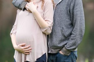 An Image from a Couple's Maternity Photography Session in Maple Valley, Washington