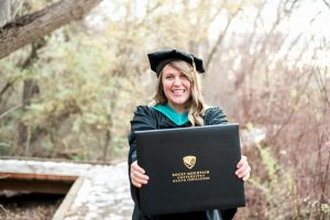An Image from a College Senior's Photography Session at Bicentennial Park in Provo, Utah