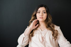 An Image of a Woman's Portrait Photography Session in Draper, Utah