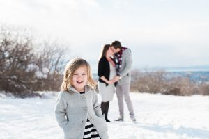 An Image of a Family Maternity session at Rock Canyon in Provo, Utah