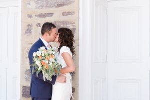 An Image of a Temple Wedding at the Logan, Utah Temple