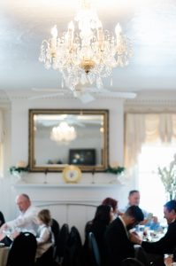 An Image of a Wedding Reception in Nephi, Utah