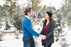 An Image from a Fun Couple's Portrait Photography Session in Alpine, Utah