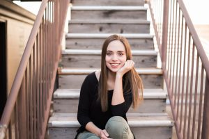 An Image of a Girl's Senior Photography Session in Provo, Utah