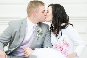 An Image from a Manti Temple, Utah Wedding