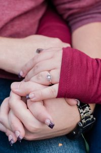 An Image from an Engagement Session in Herriman, Utah
